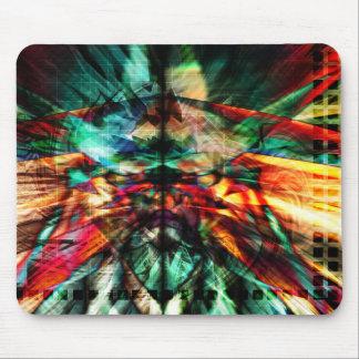 Taza radical Mousepad del arte 46