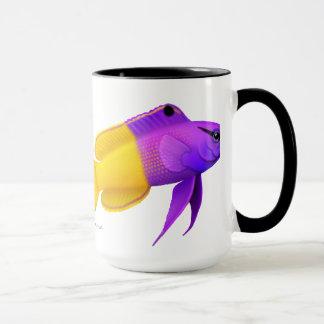 Taza real de los pescados del arrecife de coral de
