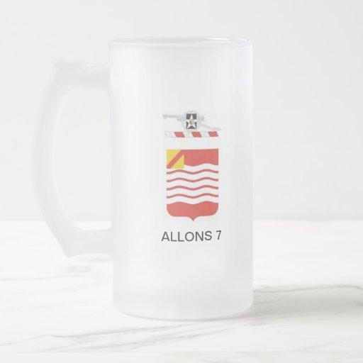 TAZA REGIMENTAL DE ALLONS