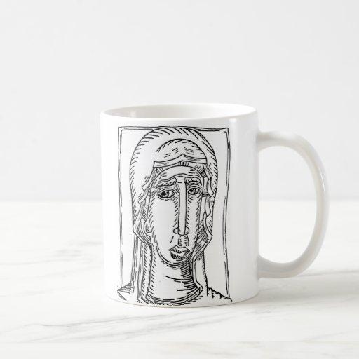 taza religiosa de café o de leche