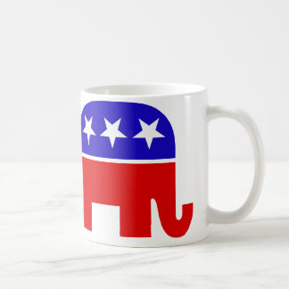 Taza republicana del elefante