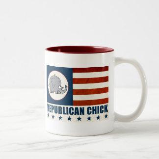 taza republicana del polluelo
