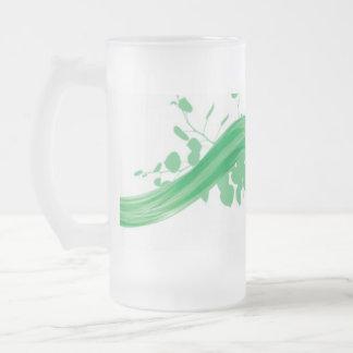 Taza respetuosa del medio ambiente del vidrio