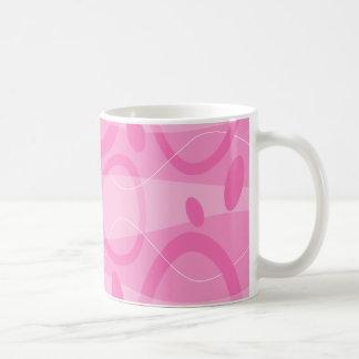 Taza retra del estilo - rosa