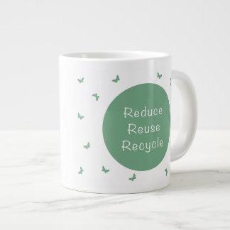 Taza reutilizable para la forma de vida de la taza grande