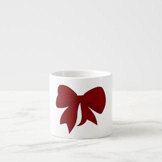 Taza roja del café express del arco taza espresso