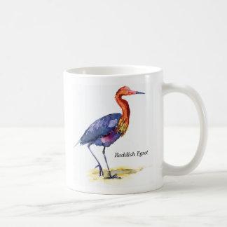 Taza rojiza del Egret