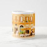 Taza romana del jumbo del ~ del café taza grande