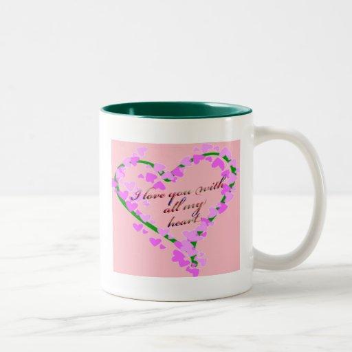 Taza romántica