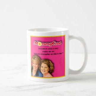 Taza rosada de MommyCast