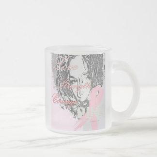 Taza rosada del amor