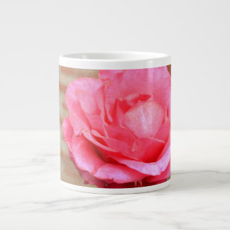 Taza rosada del jumbo de la promesa taza grande