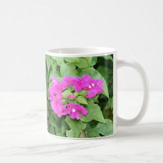 Taza rosada del racimo de flor