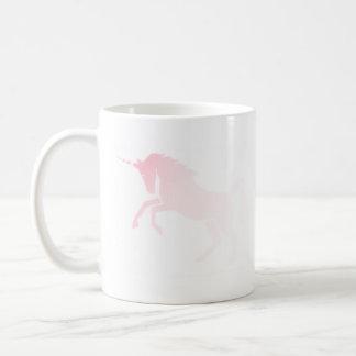 Taza rosada invisible #2 del unicornio