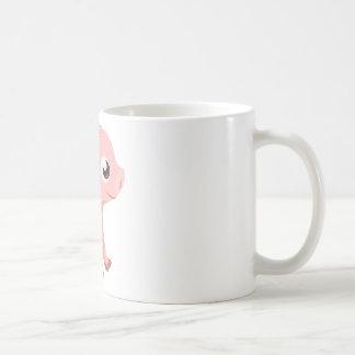 Taza rosada linda del cerdo