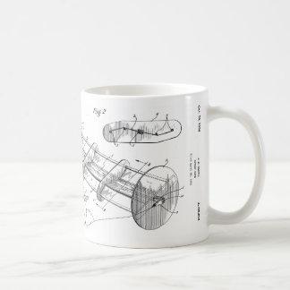 Taza rotatoria de la patente de la cometa -