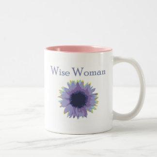 Taza sabia de la mujer