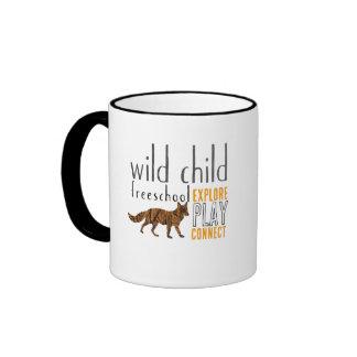 Taza salvaje del Fox del niño