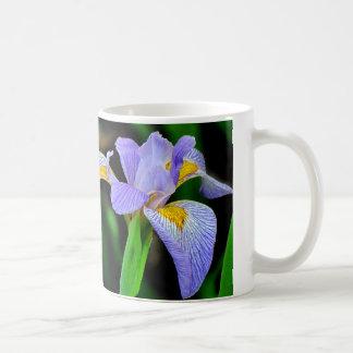 Taza salvaje del iris