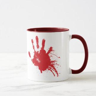 Taza sangrienta de Handprint
