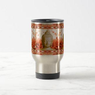 Taza serena del viaje de Buda