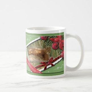 Taza siberiana del navidad del lince