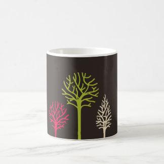 Taza simple de los árboles