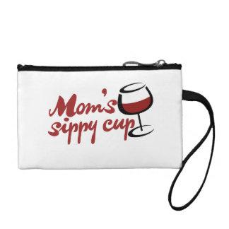 Taza sippy del vino rojo de las mamáes