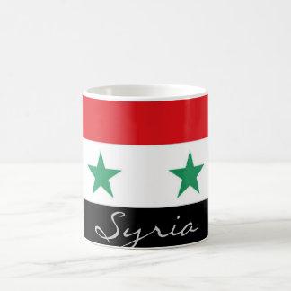 Taza siria de la bandera