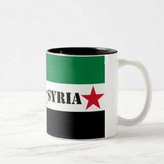 Taza siria de la revolución