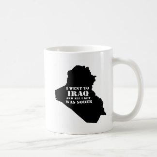 Taza sobria de Iraq