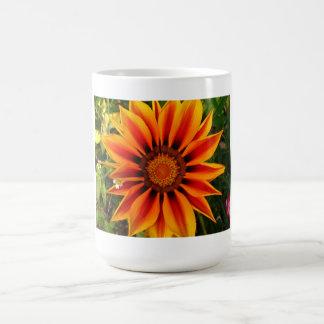Taza soleada de la flor