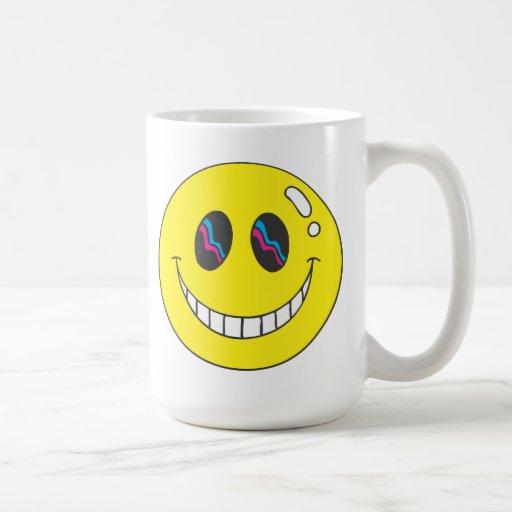 Taza sonriente