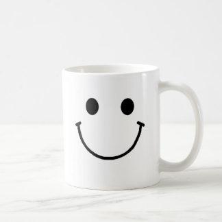Taza sonriente de la cara 11 onzas o 15 onzas
