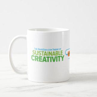 Taza sostenible de la creatividad