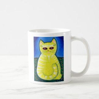 Taza suave del gato