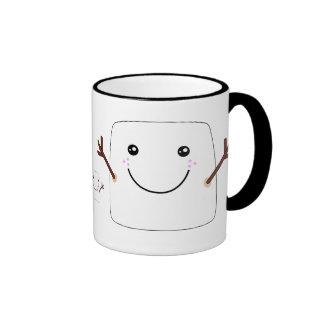 Taza suave feliz de Coffe