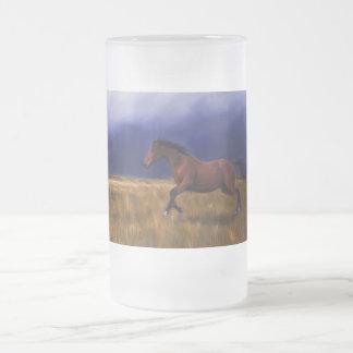Taza súbita del caballo del trueno