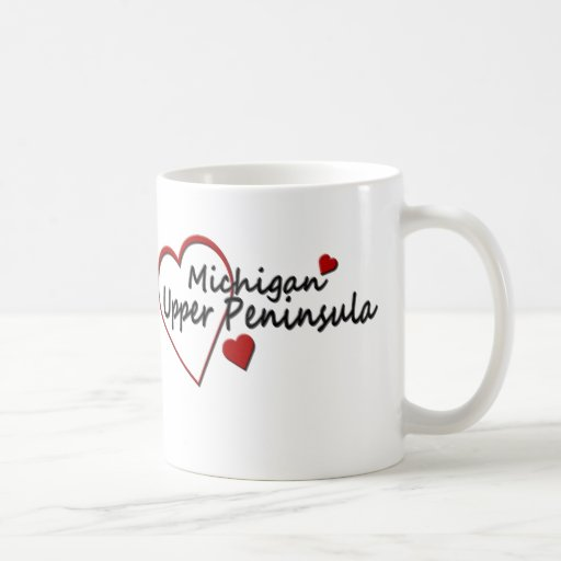 Taza superior de la península de Michigan