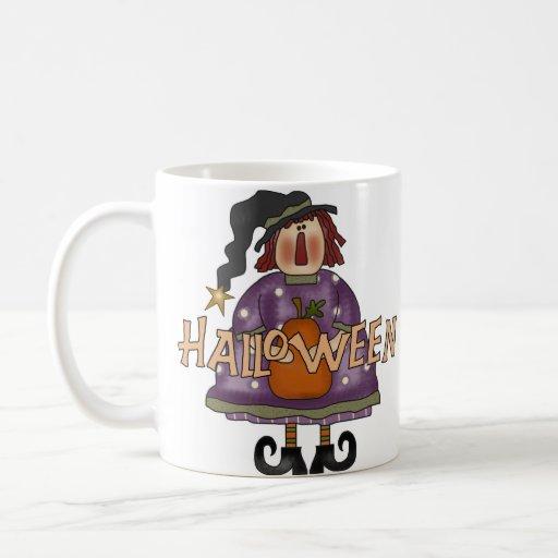 Taza/taza de la bruja de Halloween Taza