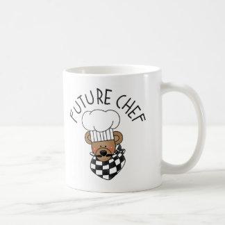 Taza/taza futuras del cocinero taza básica blanca