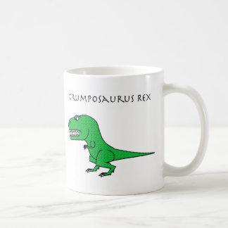 Taza texturizada verde de Grumposaurus Rex