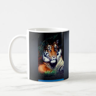 Cup tiger for gift