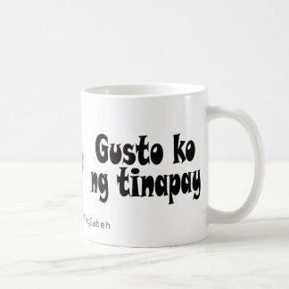 Taza tinapay del ng del ko del entusiasmo