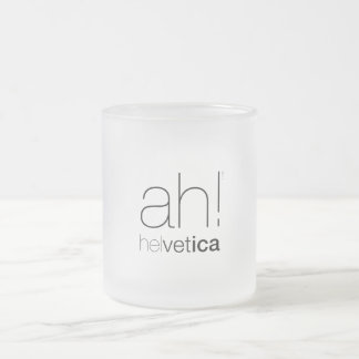 Taza tipografía Helvetica