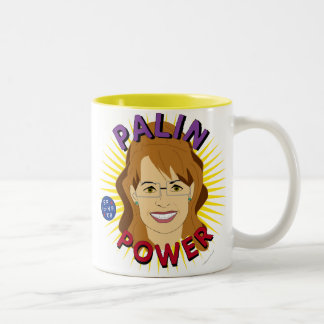 Taza totalmente linda del poder de Sarah Palin