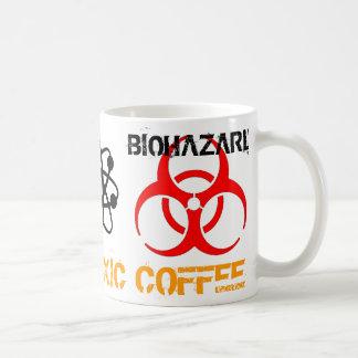 Taza tóxica del Biohazard del café
