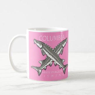 Taza trasera Gris-rosada de Columbia Scutes
