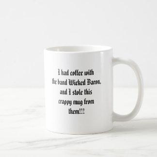 Taza traviesa del barón café