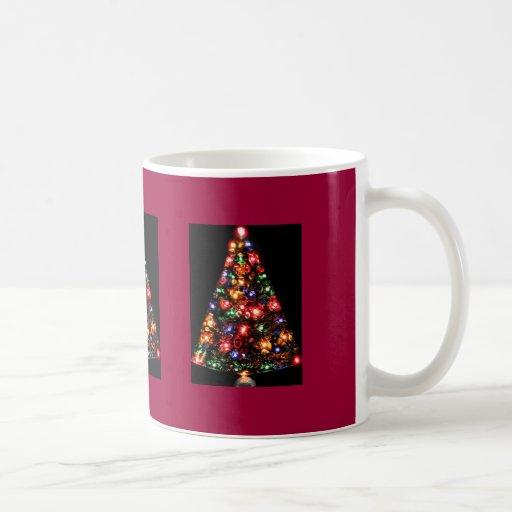 Taza triple del árbol de navidad de la joya